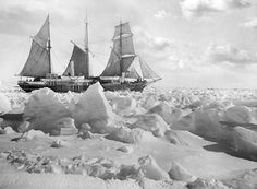 Sir Ernest Shackleton -Endurance - known as the Bride of the Sea - had been on her maiden voyage