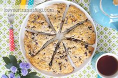 Blueberry Scones Recipe Blueberry Scones Recipe, Turkish Fashion, Turkish Style, Frozen Blueberries, Baking, Ethnic Recipes, Desserts, Food, Tailgate Desserts