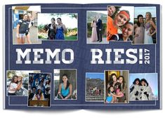 Create a yearbook that will be treasured forever with these 50 yearbook layout ideas. Filter through elementary, middle school and high school for guidance. Student Life Yearbook, Middle School Yearbook, Yearbook Staff, Yearbook Pages, Yearbook Spreads, Yearbook Covers, Yearbook Theme, Yearbook Design Layout, Yearbook Layouts