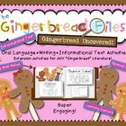 AWESOME companion to ANY Gingerbread Literature or unit!  Bundle of activites, learning centers, even informationl text activities!