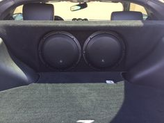 A car audio lover wanted a great sounding bass setup in his Nissan 370Z. Not only did he want it to sound great, he wanted it to look great as well. We had the perfect solution for him with a custom JL Audio Stealthbox built for his particular vehicle. The bass sounded amazing. Loud and extremely clean. We powered it with a JL Audio JX1000/1D amplifier. #Nissan #370Z #JLAudio #StealthBox #Subwoofer #Bass #AudioExpress #QualityAutoSound