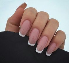 Russian French Nails