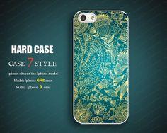 illustrator flower new design unique iphone 5 case by case7style, $6.98