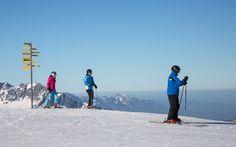 Skigebiet Pizol