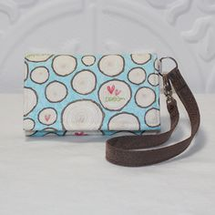 Cell Phone Wallet Wristlet / Smart Phone / iPhone / by Cucio, $29.95