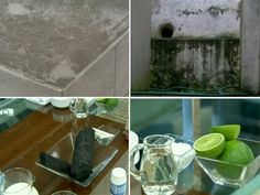 Veja dicas para eliminar o mofo usando vinagre, limão, carvão e giz (Foto: Mais Você / TV Globo)