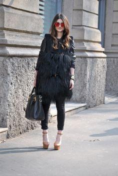 #Milan Fashion Week Fall 2013 #Street Style