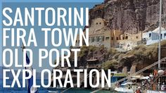 This is my Fira Town Exploration in the Summer of I also go down to the old port with the cable car.Some very nice places for photos. Santorini 2017, Fira Santorini, Old Port, Explore, World, Youtube, The World, Youtubers, Youtube Movies
