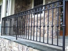 Decorative Wrought Iron Railing