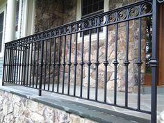 Decorative Wrought Iron Railing