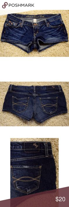 Selling this Abercrombie & Fitch Denim Shorts on Poshmark! My username is: lisaschwartz13. #shopmycloset #poshmark #fashion #shopping #style #forsale #Abercrombie & Fitch #Pants