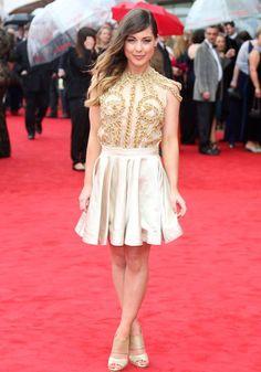 Louise Thompson at BAFTAS! x