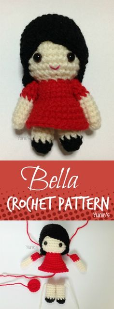 Bella Girl doll Crochet Pattern