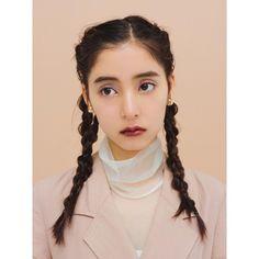"""河嶋希 on Instagram: """"@nonno_magazine @lunasolofficial PLAYFUL COLOR MAKE UP #mywork#nonno#ノンノ#ビューティ#女優#モデル#新木優子#cute#ヘアメイク#河嶋希"""" Beauty Makeup, Eye Makeup, Hair Makeup, 1970s Hairstyles, Japanese Photography, Hair Arrange, Hair Images, Kawaii Girl, Hair Designs"""