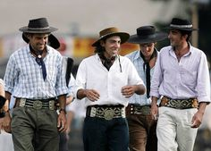 Gauchos at a rodeo at the Patria Grande festival in Montevideo, Uruguay, during Criolla Week - Telegraph
