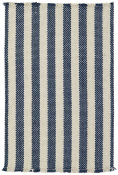 Felton Stripe Blue Area Rug