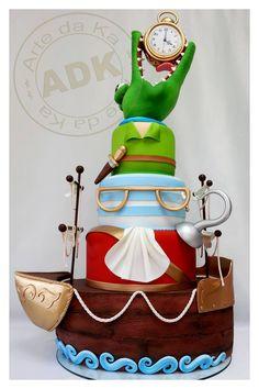 Peter Pan #cake  Arte da Ka