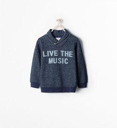""" LIVE THE MUSIC"" SWEATSHIRT"