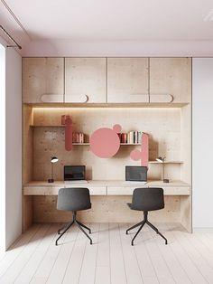 38 Simple but Cozy Workspace Office Design Ideas Living Room Scandinavian, Scandinavian Interior Design, Office Interior Design, Office Interiors, Room Interior, Interior Decorating, Scandinavian Office, Office Designs, Decorating Ideas