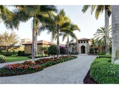 2554 Escada Ct, Naples, FL 34109 | Luxury Mediterranean  golf estate in the Escada neighborhood of Tiburon - Naples Seaside Properties