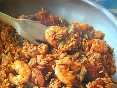 Creole Jambalaya recipe from Brennan's New Orleans Seafood Cookbook