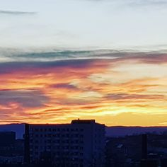 Solnedgang over Oslo  #oslove  #solnedgang #oslo