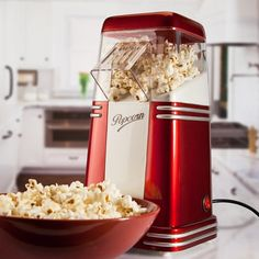 Mini Retro Popcorn Maker from Firebox.com