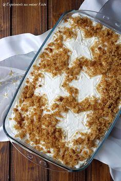 Experimente aus meiner Küche: Honigkuchen-Mandarinen-Dessert