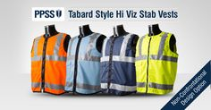 PPSS 'Tabard Style' Stab Vests for organisations wanting to look more approachable