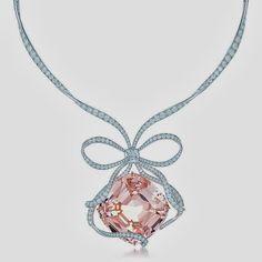 Tiffany Anniversary Morganite Necklace
