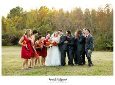 www.amandahedgepethphotography.com  www.amandahedgepethphotographyblog.com    LOVE the colors for this Williamburg Winery fall wedding in Virginia!
