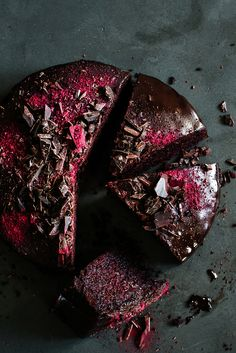 Chocolate Beetroot Cake / Rote-Beete-Schoko-Kuchen