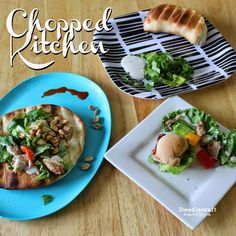 Chopped Kitchen At Home Game!  Play the food network game show at home!  :)