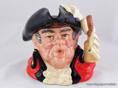 Large size Royal Doulton Town Crier - second edition.