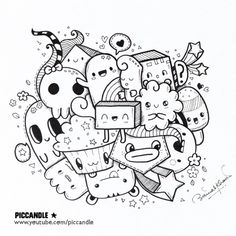 New video | A quick kawaii doodle Watch it on my YouTube channel: Pic Candle www.youtube.com/piccandle