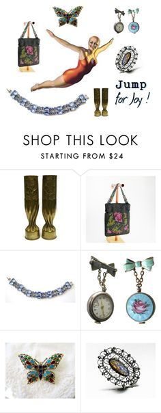 """""""Jump for Joy"""" by seasidecollectibles ❤ liked on Polyvore featuring vintage"""
