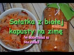Sałatka z białej kapusty na zimę - W kuchni u Moniki - YouTube Salsa, Youtube, Make It Yourself, Food, Essen, Salsa Music, Meals, Youtubers, Yemek