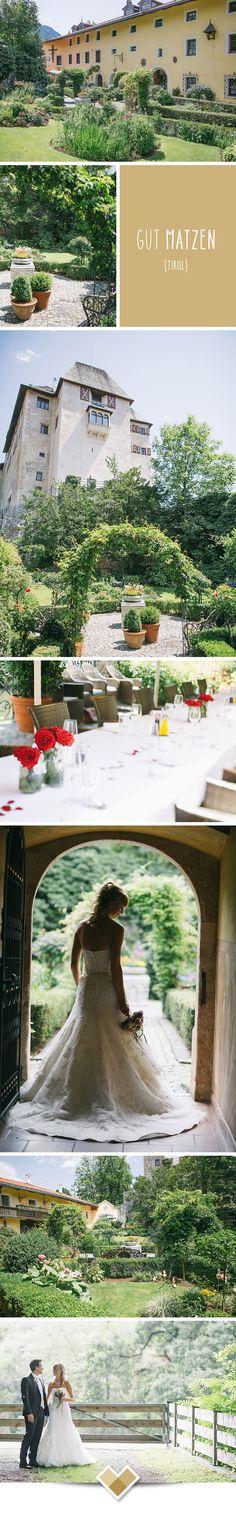 Das Gut Matzen im Alpbachtal in Tirol bietet eine wundervolle Kulisse für Hochzeiten. Besonders der prächtige Garten bietet Platz für Empfänge, Partys, Fotoshootings und noch mehr. Weitere Bilder auf: http://hochzeits-location.info/hochzeitslocation/gut-matzen#Fotos Bilder: http://www.formafoto.net/