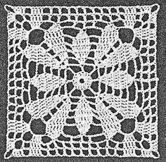 Discover thousands of images about Bluse Alex Facil und Rapido Teil con la Comadre Crochet Motif Patterns, Crochet Blocks, Granny Square Crochet Pattern, Crochet Diagram, Crochet Squares, Crochet Chart, Thread Crochet, Crochet Granny, Filet Crochet