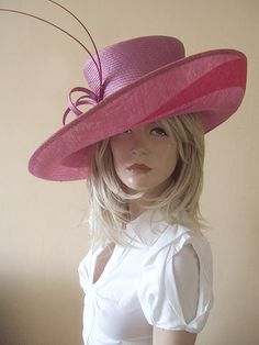 Whiteley Lilac and Pink Hat Hire from Dress-2-Impress.com Hat Hire