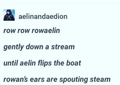 Cause Aelin is always flipping the boat