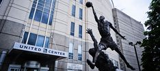 MJ at the United Center