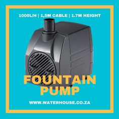 Fountain & Pond Pumps