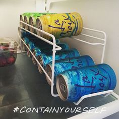 Check out the #ContainYourself gallery and see how people are keeping their homes neat and tidy!