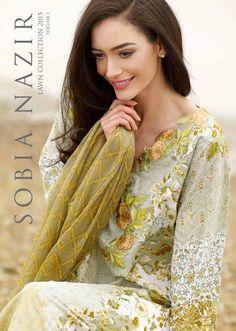 Sobia Nazir New Lawn Wear Dresses 2015 (1)
