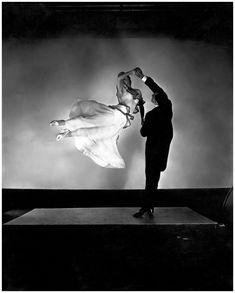 Dancing, 1935. By Edward Steichen.