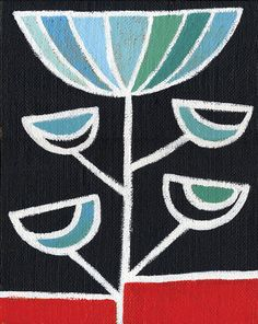 Blue Petunia Print - Archival Art Print Poster - Home Decor - Floral Print - Modern Floral - Birthday Gift
