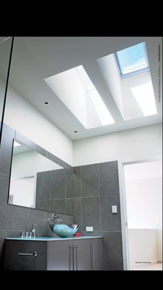 Amazing Velux Skylight Sizes For Exterior Design: Amazing Slate Grey Velux Skylight Sizes Matched With Grey Ceiling For Bathroom Perth, Bathroom Gallery, Small Bathroom, Bathroom Ideas, Bathroom Tray, Bathroom Towels, Skylight Bathroom, Black Bathrooms, Downstairs Bathroom