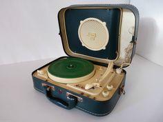 """VINTAGE ANCIEN TOURNE DISQUE ELECTROPHONE """" TEPPAZ présence GJ 8962 """" in Image, son, Hi-Fi, son, matériel audio, Tourne-disques, platines   eBay"""