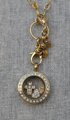 Mini gold locket by Origami owl http://rachowlsnest.origamiowl.com/